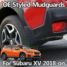 Set Mud Flaps For Subaru XV / Crosstrek 2018 Splash Guard Fender Front Rear 2019