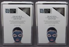 NEW 2-PACK x 5oz Global Beauty Care DEAD SEA Wash Off Mask Mud Face Treatment ++