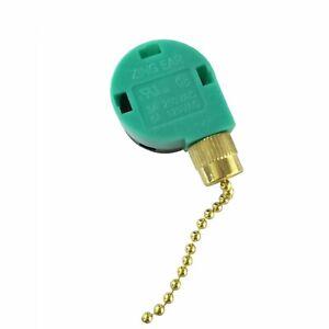 ZING EAR ZE-268S6 Pull Chain Switch 4 Wire 3 Speed Ceiling Fan Switch 6A 125V US