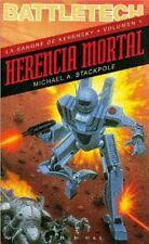 Battletech - Herencia Mortal - Timun Mas Paperback -  RARE Spanish Edition 1996