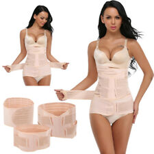 Ladies 3 in 1 Postpartum Support Recovery Girdle Corset Belly Waist Pelvis Belt