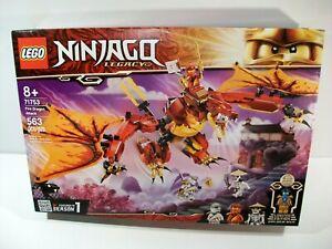 NEW LEGO NINJAGO LEGACY FIRE DRAGON ATTACK SET #71753 LIMITED EDITION NYA FIGURE