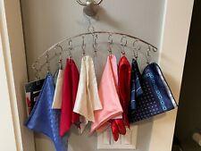 "18"" New in packaging Scarf Kerchief  Pocket Square Hanger handkerchief Organize"