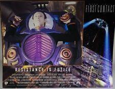 Star Trek First Contact 1996 UK Mini Poster Original Data in a spot of Bother