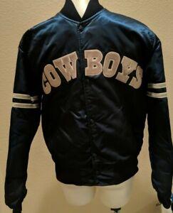 Vintage Starter Dallas Cowboys Satin Jacket Men's M 80s 90s USA Pro Line NFL