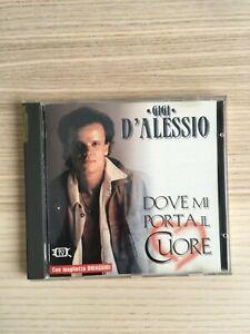 Gigi D'Alessio - Dove Mi Porta il Cuore - CD Album - 1994 RARISSIMO!!!