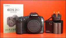 Canon EOS 20D Digital SLR Camera Body + Battery & Charger - Full Working Order