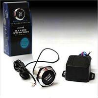 Car 12V Blue LED Engine Start Push Button Switch Ignition Starter Kit UK