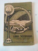 Libro sussidiario E. Setti 1922 illustrazioni Ezio Anichini