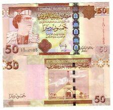 Libia Libya 50 dinari 2008    FDS UNC  pick 75  rif 4061