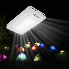 50000mah Solar Power Bank Externes 20 LED 2 USB Zusatzakku Ladegerät Mit Kompass