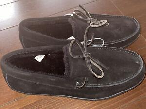 Vionic Adler - Black 8.5 M - Men's Comfort Slippers