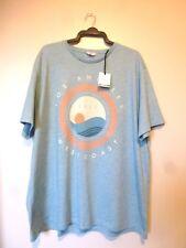 NEXT Short Sleeve Los Angeles T-shirt Regular Size 3xl Aqua