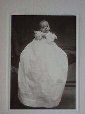 Early 1900's Baby Edith 3 mos old Olive Studio St. Louis MO Photograph