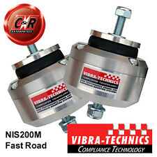2 x Nissan 240SX S13(SR20)/14/15 Vibra Technics Engine Mounts Fast Road NIS200M