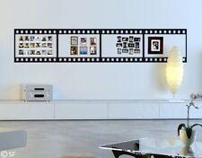 Wandtattoo Filmstreifen Foto-Bordüre Wohnzimmer Schlafzimmer Kinderzimmer uss498