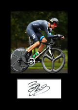BRADLEY WIGGINS #3 Signed Photo Print A5 Mounted Photo Print - FREE DELIVERY