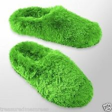 SO Plush Clog Slippers Scuffs  ~  Size Medium  (7-8) ~  Green ~ New With Tags