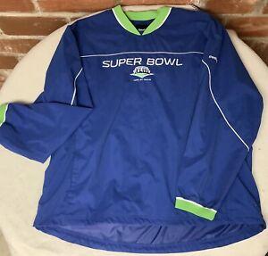NFL Tampa Bay Football Sweater 2XL Super Bowl XLIII Reebok Crew Neck Sweatshirt