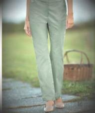 Appleseeds Chino Slacks 5-Pocket Classic Straight Leg Juniper Trouser Pants 10
