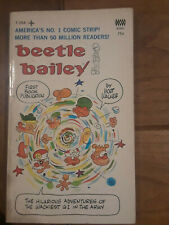 Beetle Bailey, by Mort Walker: first B.B. mmpb, Tempo book T-184 (1968)