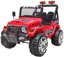Kinder Elektro Auto, Jeep  Zwei sitzer, Doppelt Motor 12V je 45Watt, 2 X 6V/7Ah,