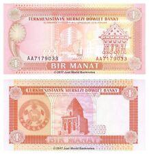 Turkmenistan 1 Manat 1993 P-1 Banknotes UNC