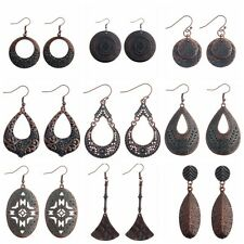 Trendy Alloy Women's Cotton Strings Bohemian Boho Drop Dangle Vintage Earrings