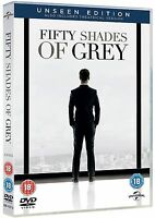 Fifty 50 Shades Of Grey Unseen + Theatrical Edition DVD Gray New UK Release R2