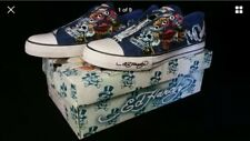 ED HARDY LAPD LOS ANGELES POLICE DEPARTMENT SNEAKERS MENS 11 SHOES LOWRISE