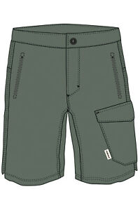 Maloja Boys Multisportshort Shorts Spierb. Multisport Shorts Green