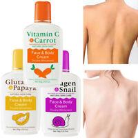 Vitamin C Carrot Bleaching Face Body Cream Skin Whitening Moisturizing Lotion
