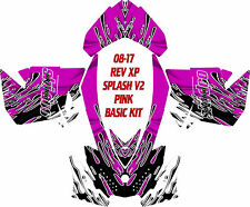 SKI DOO SNOWMOBILE WRAP REV,XP, XR,XS,XM MXZ 99-16 SPLASH V2 DECAL STICKER