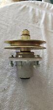 Bush Hog (Worldawn) mower deck bearing, pulley, housing assembly., part #5001140