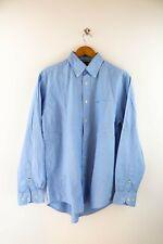 Tommy Hilfiger Herren Hemd Gr. M Langarm Shirt Hellblau