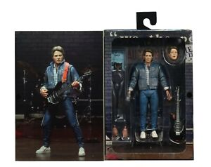 """NECA - Back To The Future - Ultimate Marty McFly """"Guitar Audition"""" Action Figure"""