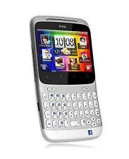 HTC ChaCha - Silver White (NEUW. & OVP, QWERTZ TASTATUR, MWST RECHNUNG, HÄNDLER)