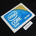 Intel Core 2 Quad Desktop Size Sticker 18mm x 24mm