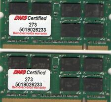 4GB 2X 2GB Kit Panasonic ToughBook CF-19/30/51/52/74 DDR2 Laptop/Notebook Memory