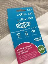 £60 Skype Credit - UK £60 Card - United Kingdom -