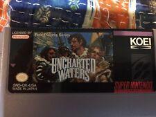 Uncharted Waters (Super Nintendo, 1993)