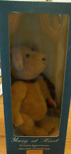 Geraldine's Of Edinburgh Mohair Bear Sebastian #12 Young At Heart Coll RARE