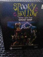Spooky Hollow Ghost Ship - Lighted - Halloween decor