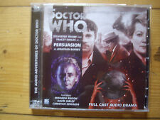Doctor Who Persuasion, 2013 Big Finish audio book CD