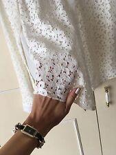 Clockhouse cream lace blouse size 10
