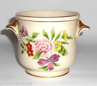 Amoges Porcelain Pottery Floral Decorated Jardiniere BUY-IT-NOW