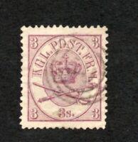 Denmark - Sc# 12 Used / VF+   -   Lot 1120007
