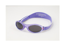 NEW ADVENTURE BABY BANZ SUNGLASSES LAVENDER SPRING UV PROTECTION DURABLE CARE
