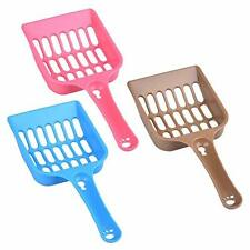 Plastic Cat Litter Scoop Kitty Boxes Scooper Pet Sift Shovel Cleaning Tool 3 Pcs