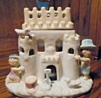 Vintage Rare 'Yankee Candle' Tealight Candle Holder- By Artist Ronnie Walter 114